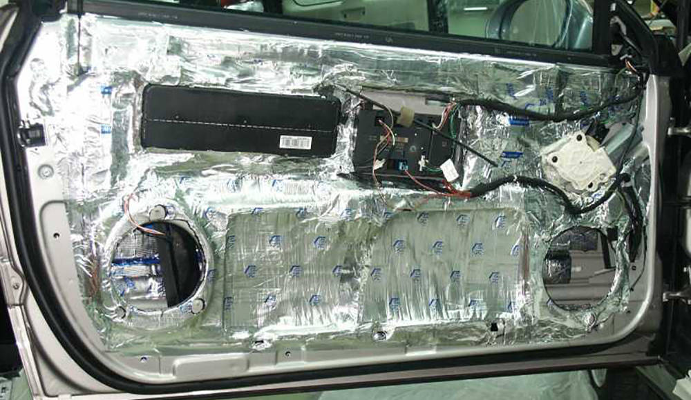 Как сделать шумоизоляцию дверей автомобиля правильно
