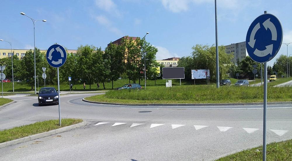 Кольцевое движение на дороге