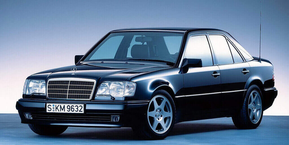 mercedes w124 s ocinkovannym kuzovom - Что такое оцинкованный кузов