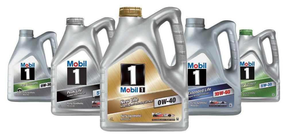 Моторное маслоMobil 1