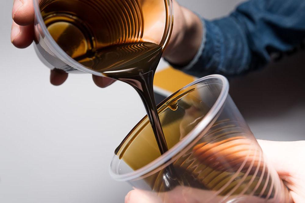 Оценить качество и цвет масла