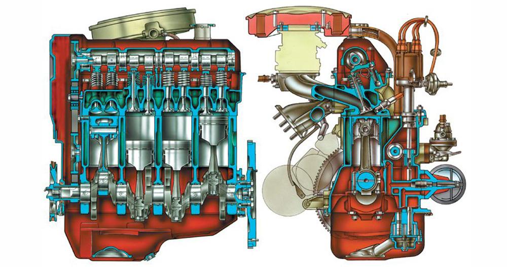 Принцип работы атмосферного двигателя
