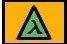 Треугольник со значком лямбды внутри