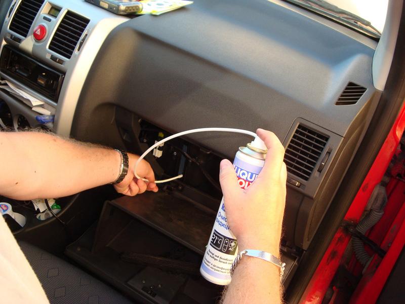 Как очистить кондиционер в машине