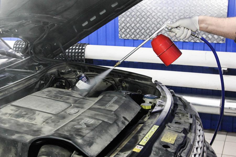 Мойка двигателя и моторного отсека