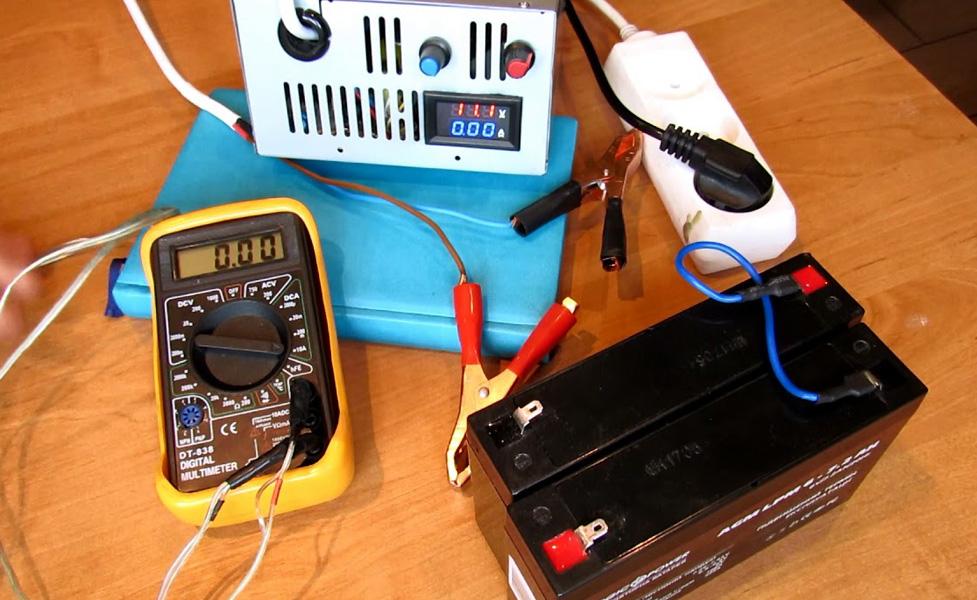Зарядка гелевого аккумулятора