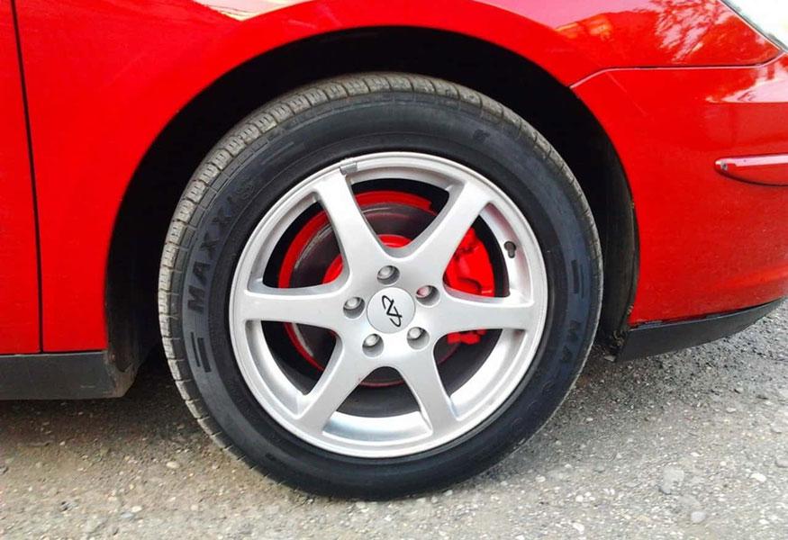 Как и чем покрасить тормозные суппорта в автомобиле