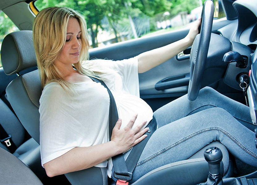 Можно ли беременным ездить на машине