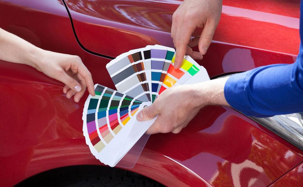 Подбор автоэмали для покраски