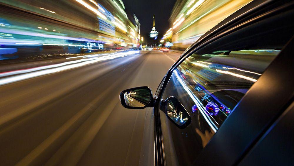 Разрешенная скорость в городе