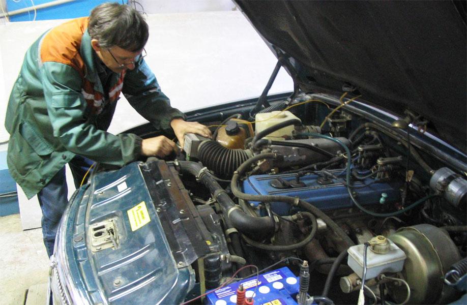 Ремонт инжекторного двигателя