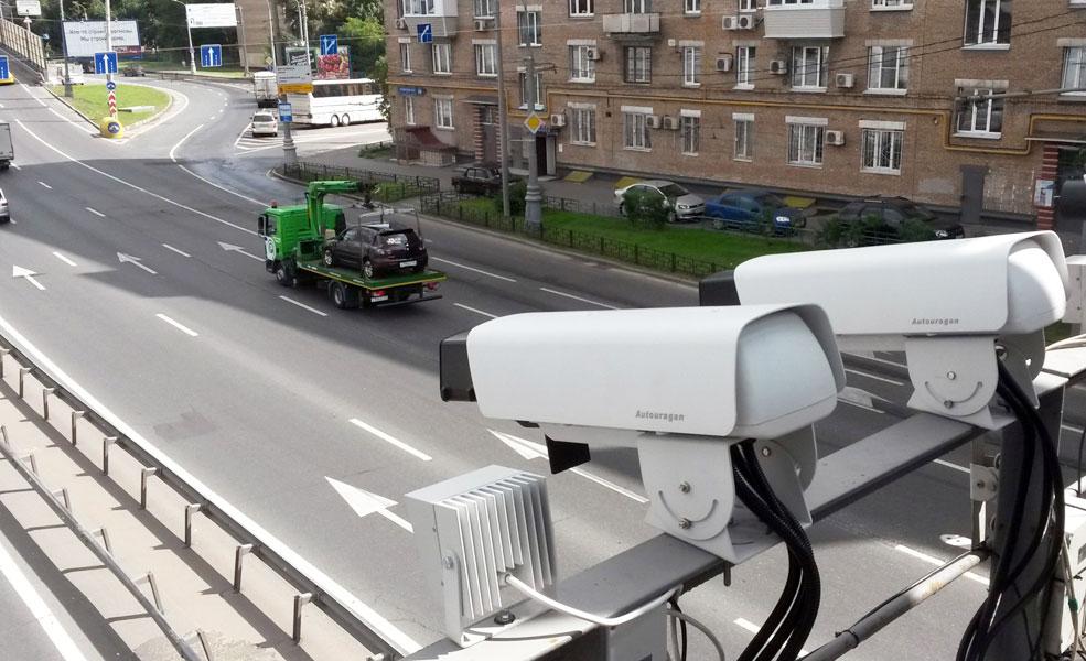 Стационарная камера ГИБДД