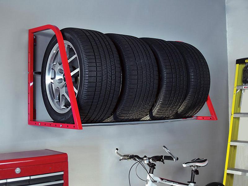 Стеллаж для колес