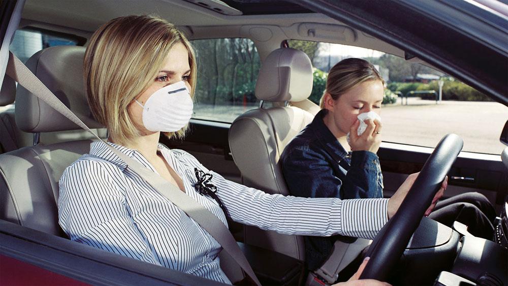 Устранение запаха в салоне авто