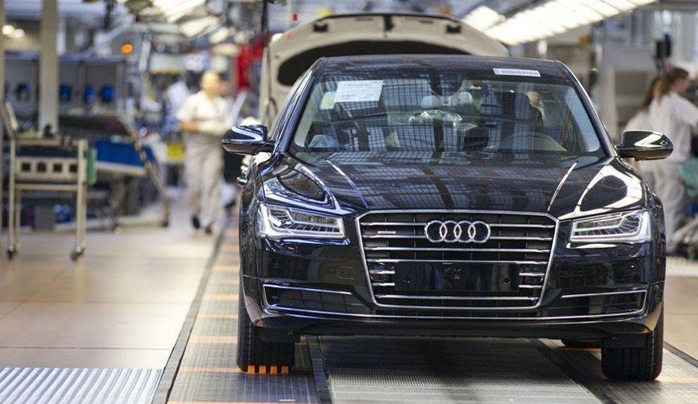 Где производят автомобили Audi