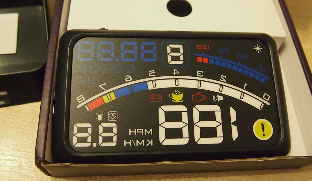 HUD автомобильный проектор