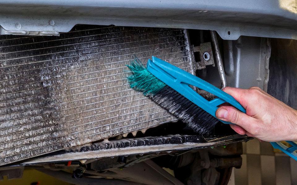 Как прочистить радиатор автомобиля