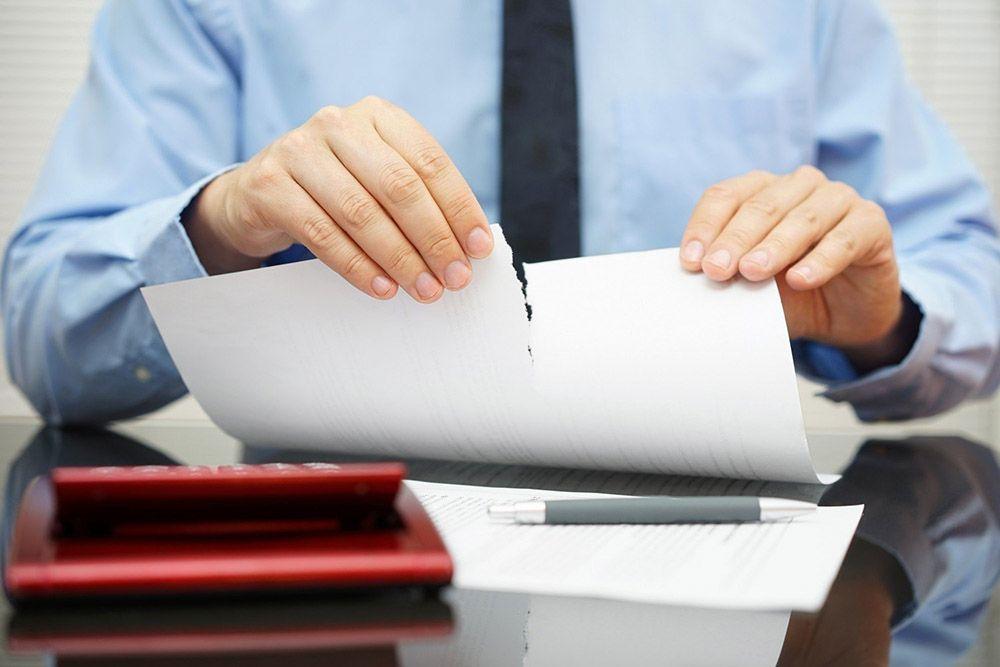 Расторжение страхового договора