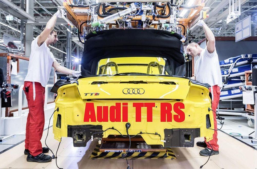 Сборка автомобиля Audi