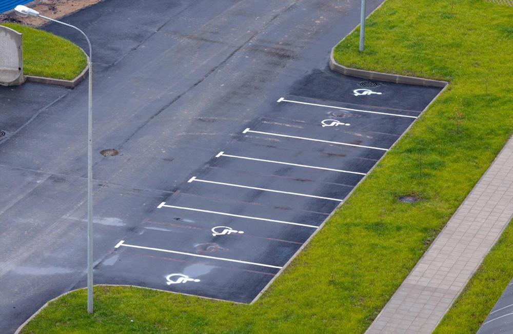 Технические требования для разметки парковочных мест