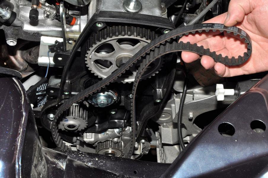 Замена ремня генератора авто