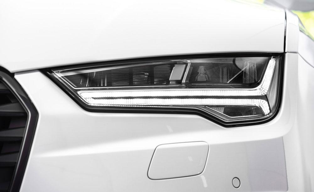 Матричные фары Audi A7