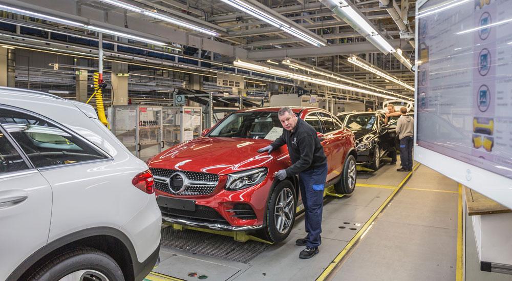 Где производят автомобили Mercedes