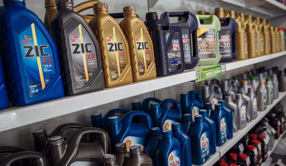 Моторное масло для автомобиля