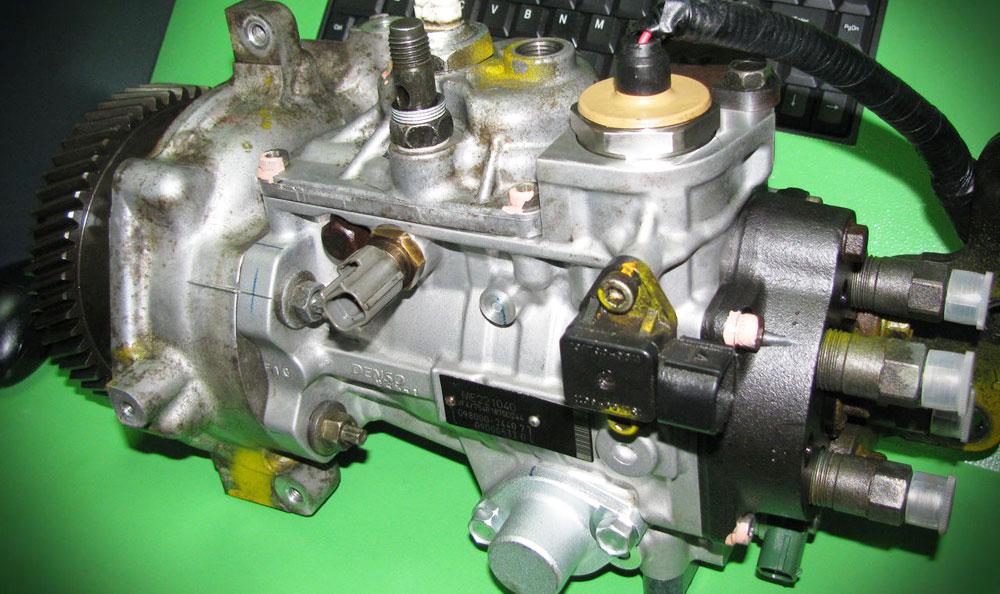 ТНВД в дизельном двигателе автомобиля
