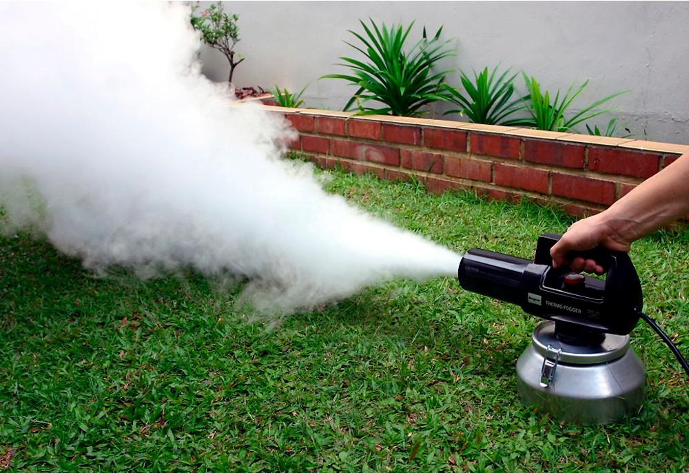 Устранение посторонних запахов сухим туманом