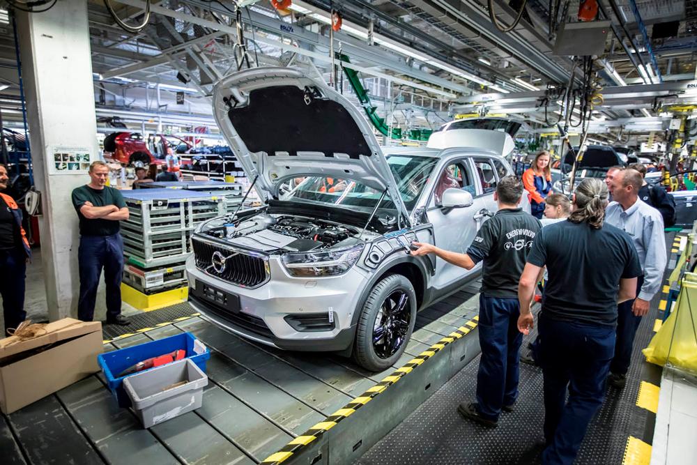 Автомобиль Volvo для России