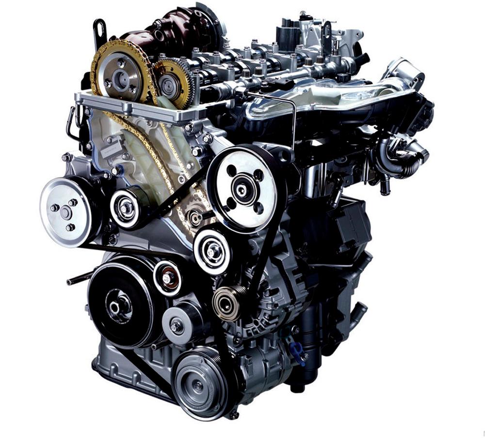 Фотография дизельного двигателя
