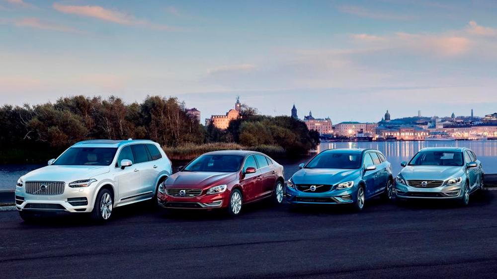 География компании Volvo