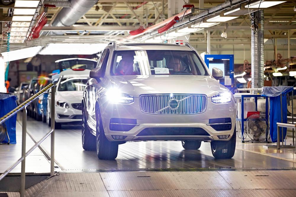 Производство автомобилей Volvo