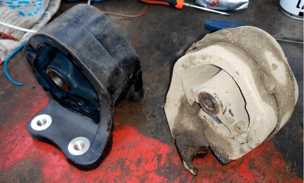 Проверка подушек двигателя