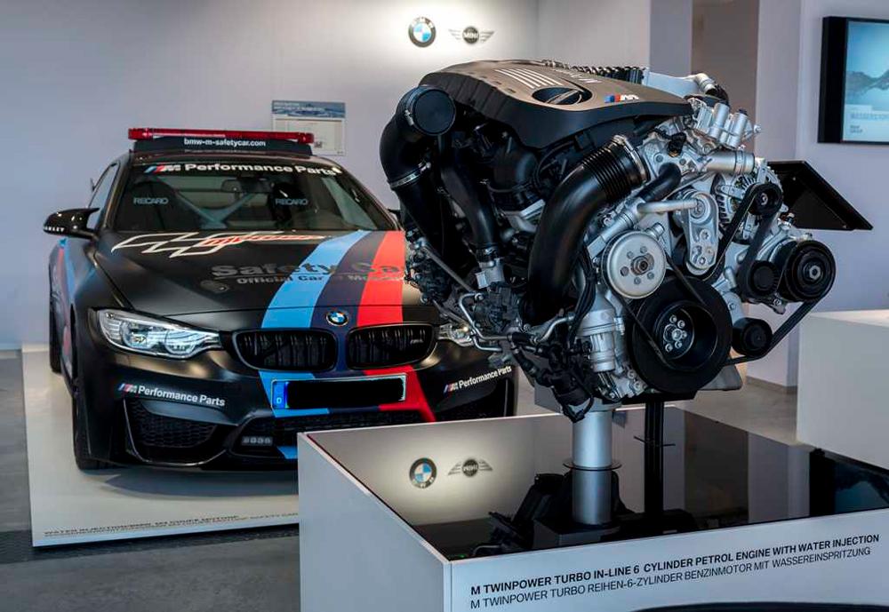Двигатель на водородной смеси