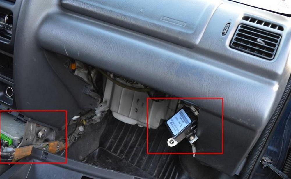 ЭБУ двигателя Mazda