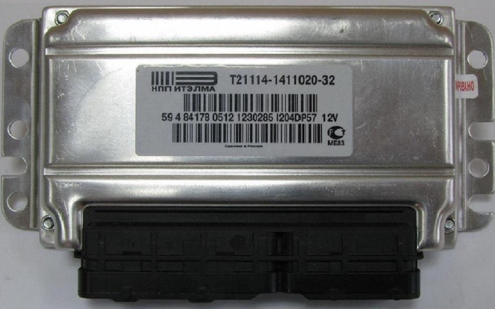 Электронный блок управления двигателем ВАЗ 2110