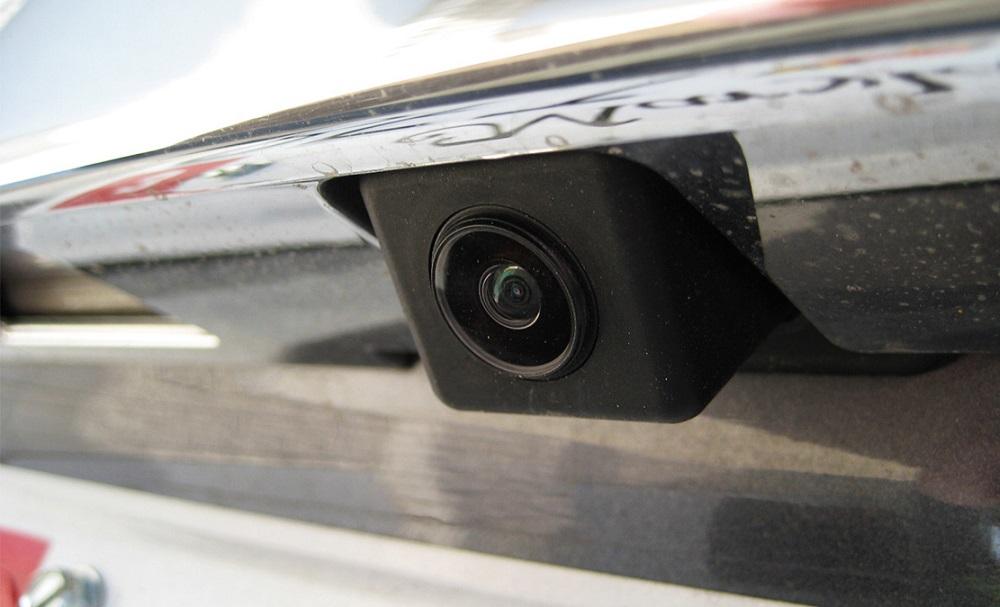 Камера заднего вида в бампере