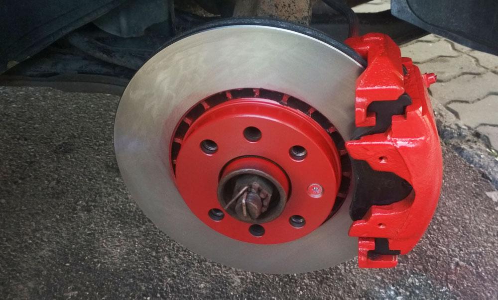 Обработка тормозных дисков от ржавчины