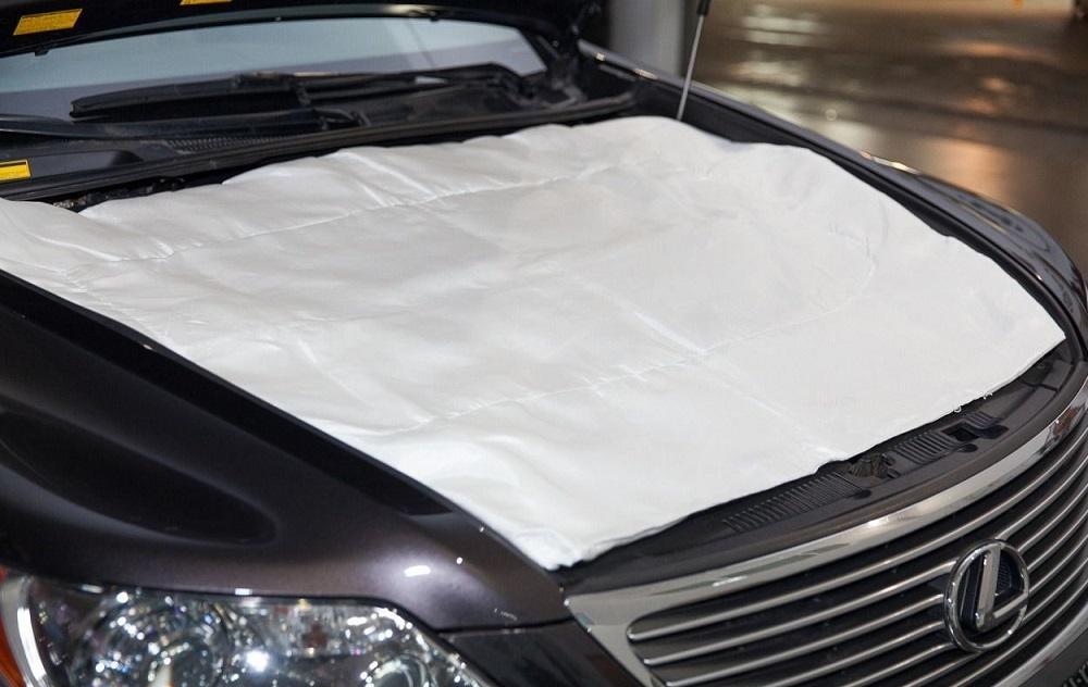 Одеяло на капот