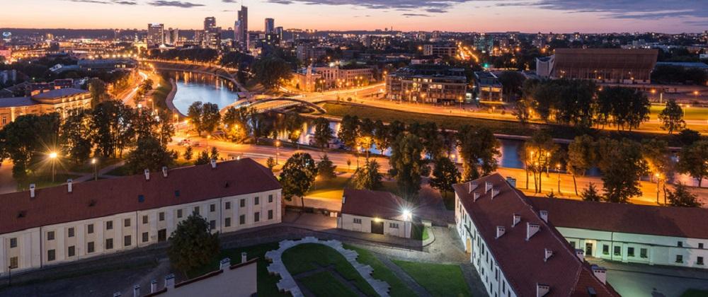 Панорама столицы Литвы