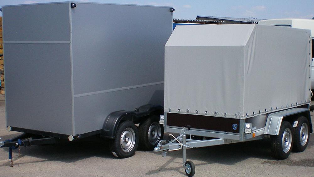 Прицепы свыше 750 кг