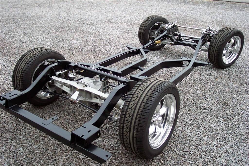 Рама легкового авто