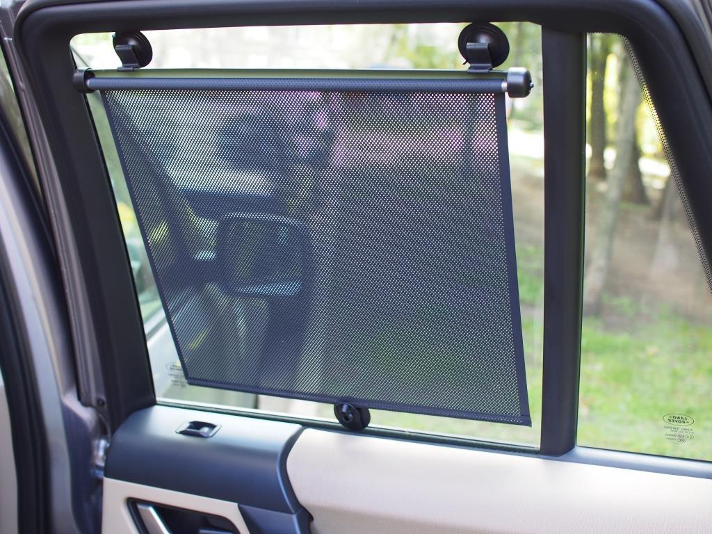 Шторки на заднее стекло автомобиля своими руками