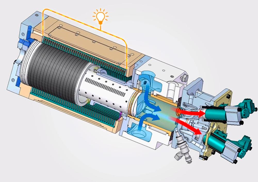 Свободнопоршневой двигатель Стирлинга