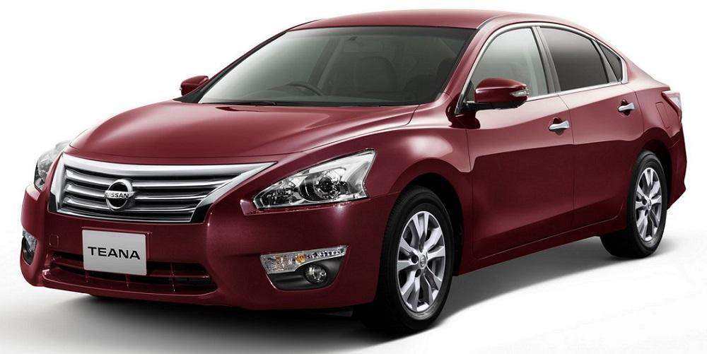 Модель автомобиля Teana