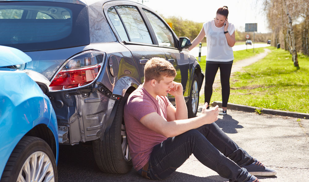 В ДТП виноват пассажир