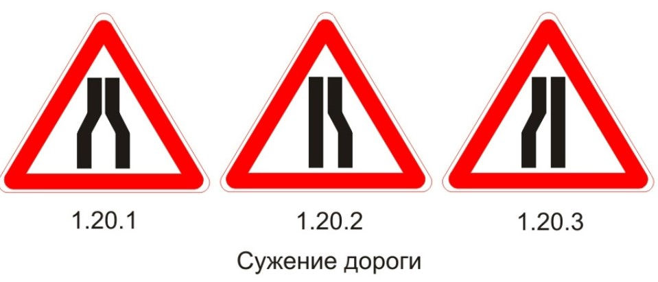 Виды знака