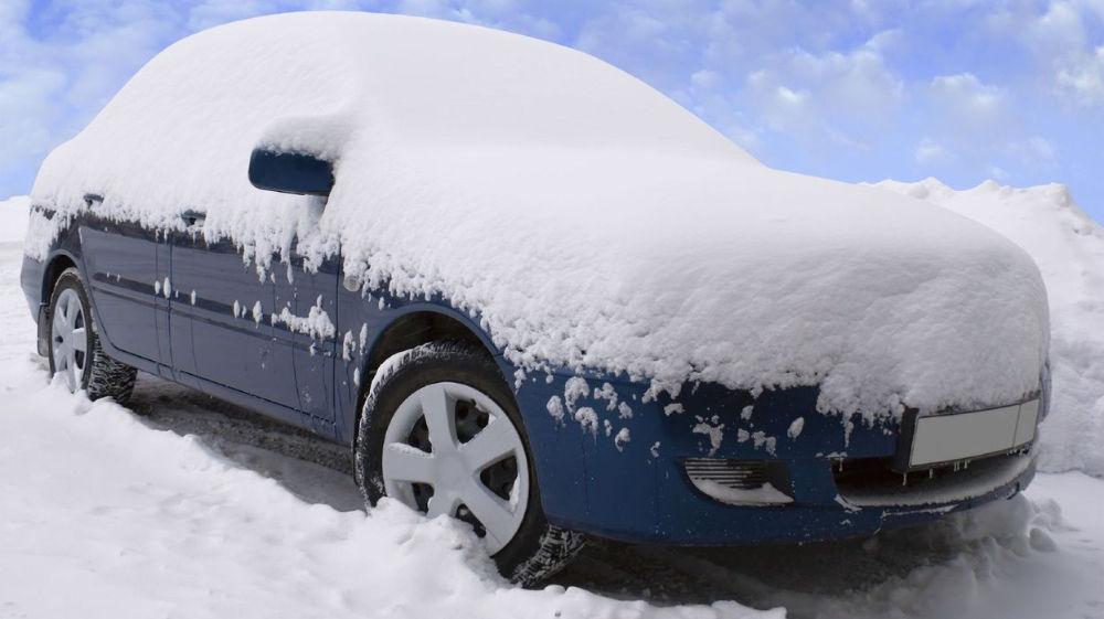 Авто в снегу